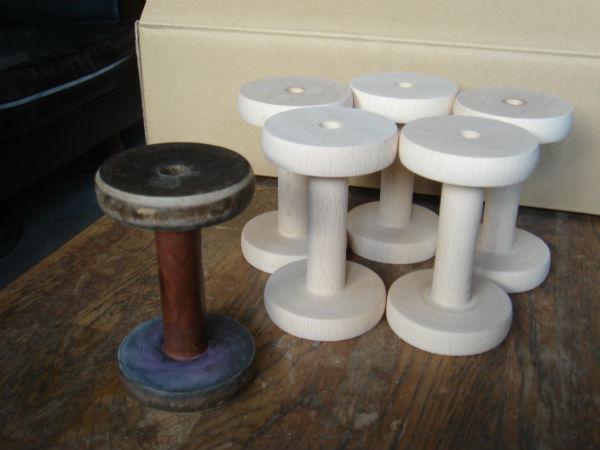 木製ボビン