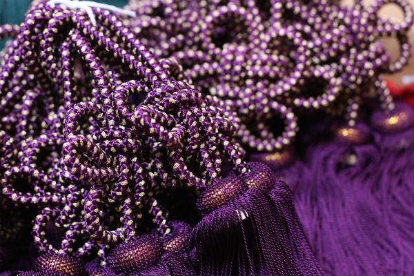 古代紫金糸入り房