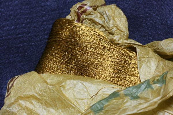 金茶の原糸